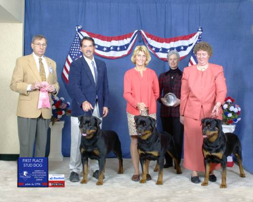 2004 ARC National - 1st Place Stud Dog
